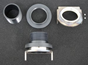 Adjustable Height Rear Spring Locators w/ G-Body Specific Housing Plate
